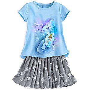 Cinderella Skirt Set for Girls