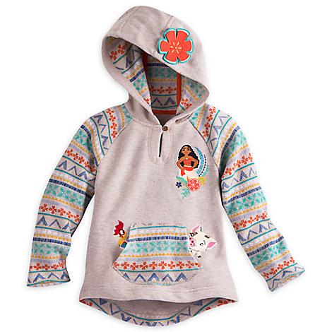 Moana Hooded Fleece for Girls