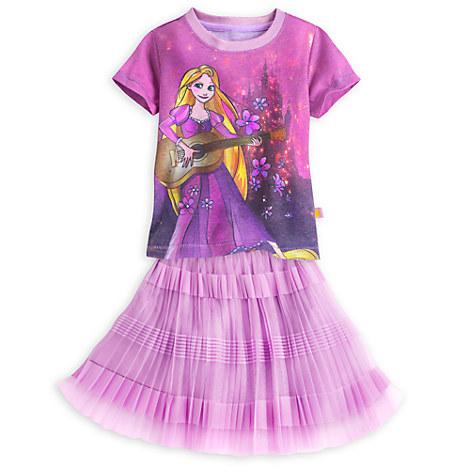 Rapunzel Skirt Set for Girls