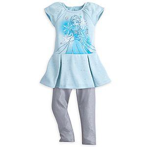 Elsa Dress Set for Girls