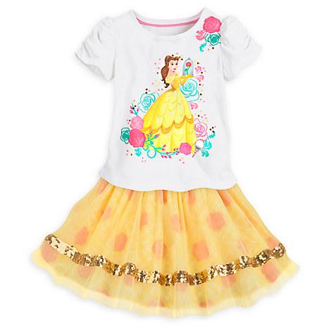 Belle Skirt Set for Girls