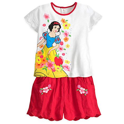 Snow White Short Set for Girls