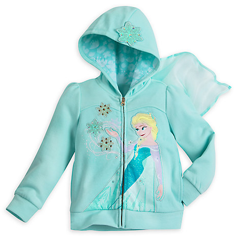 Elsa Hoodie for Girls - Frozen