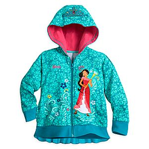 Elena of Avalor Hooded Jacket for Girls - Personalizable