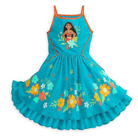 Moana Woven Dress for Girls