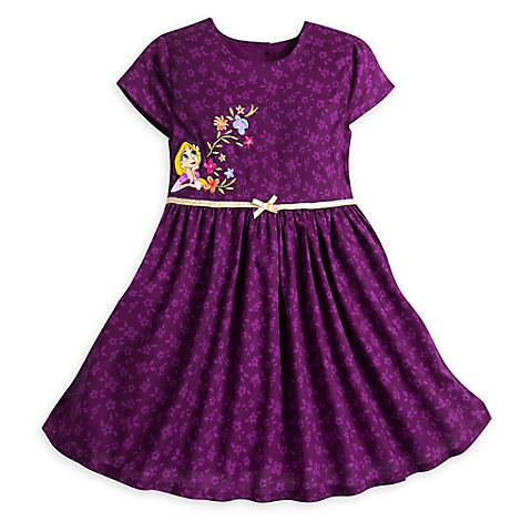 Rapunzel Woven Dress for Girls