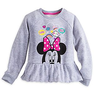 Minnie Mouse Clubhouse Fleece Top for Girls