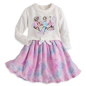 Disney Princess Long Sleeve Dress for Girls