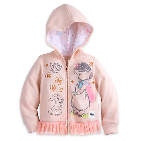 Disney Animators' Collection Snow White Hoodie for Girls