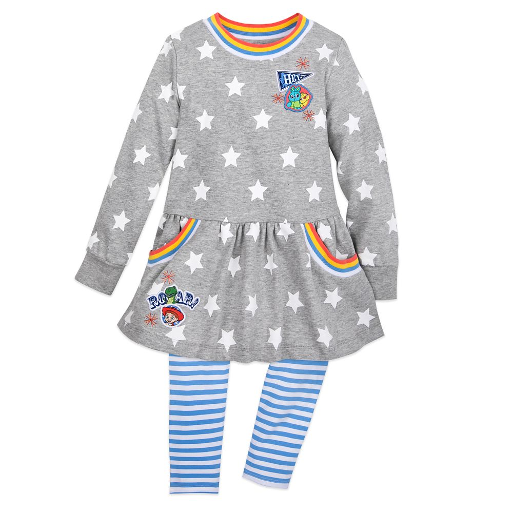 Toy Story 4 Knit Top and Leggings Set for Girls