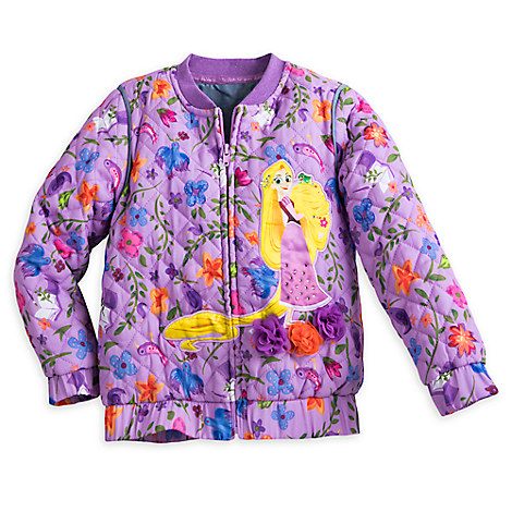 Rapunzel Lightweight Quilted Jacket for Girls