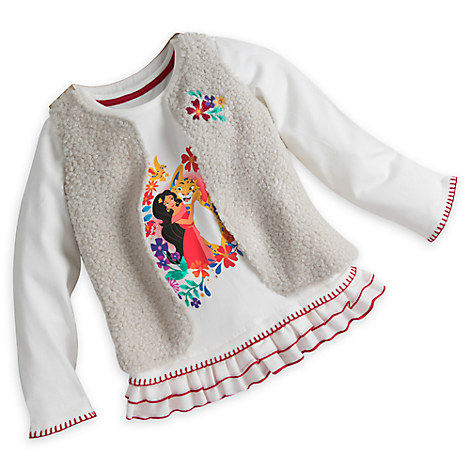 Elena Shirt and Vest Set for Girls
