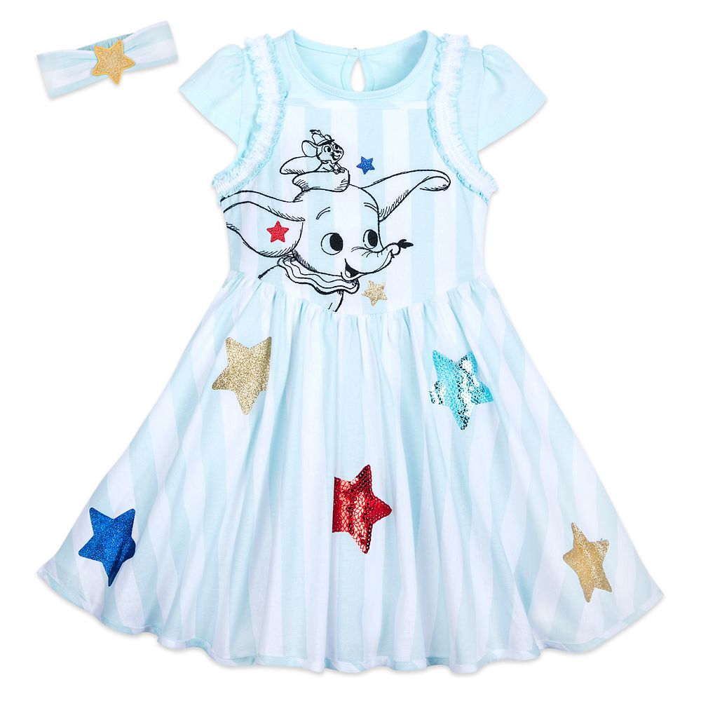 Dumbo Dress Set for Toddlers