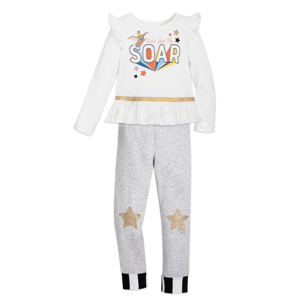 Dumbo Top and Leggings Set for Girls