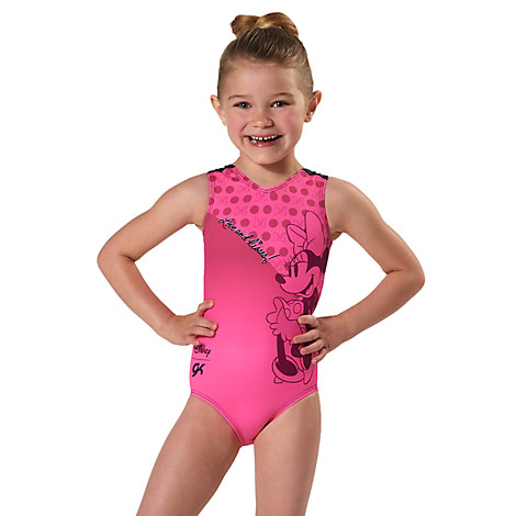Minnie Mouse Leotard for Girls by GK - Pink/Black
