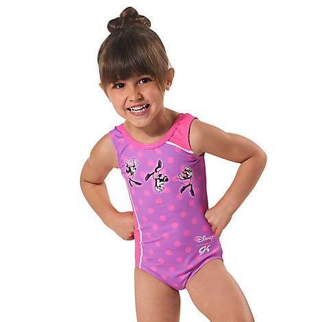 Minnie Mouse Leotard for Girls by GK - Pink/Purple