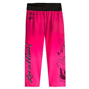 Minnie Mouse Capri Pants for Girls by GK