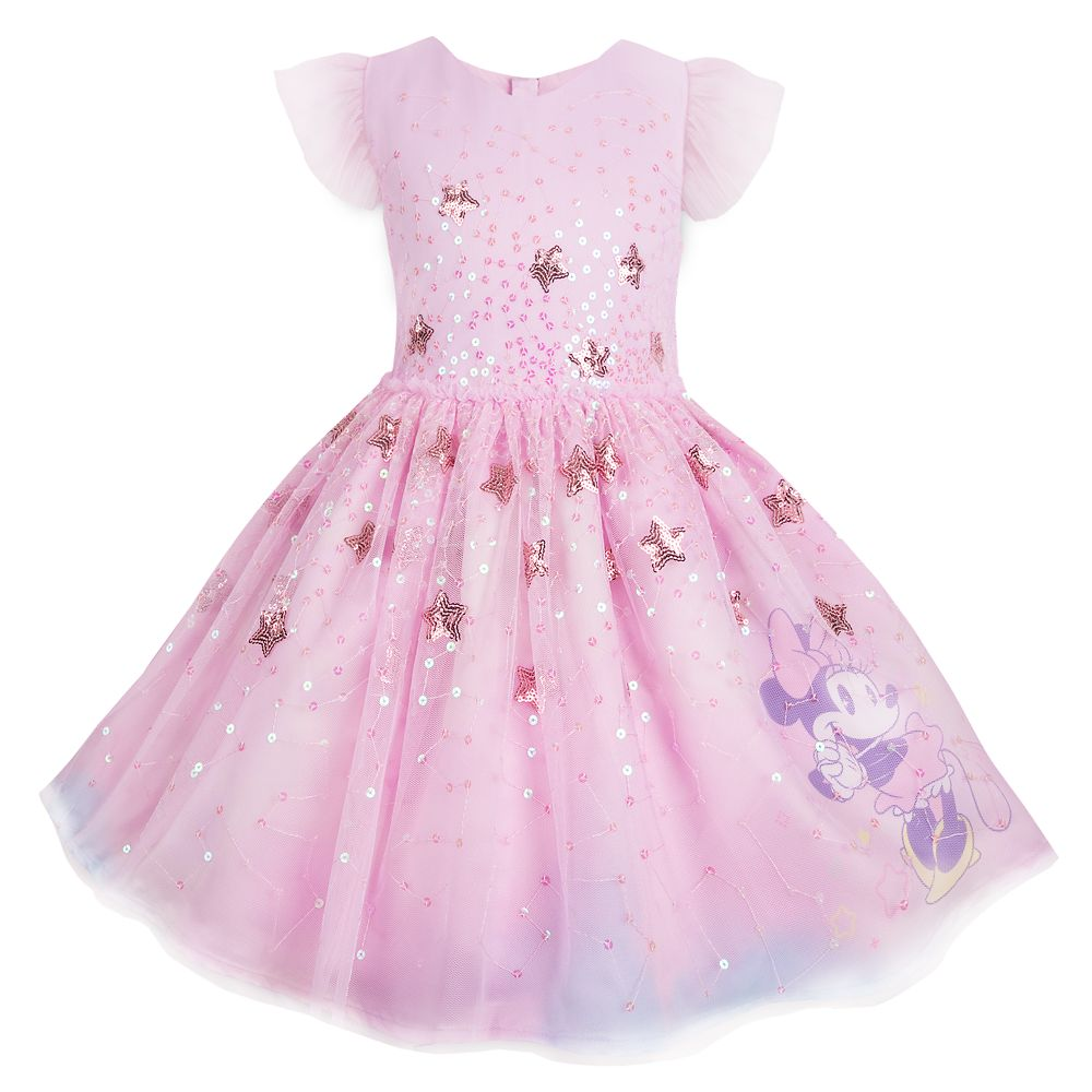 Minnie Mouse Sequin Stars Party Dress for Girls