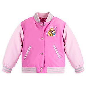 Disney Princess Varsity Jacket for Girls - Personalizable