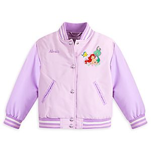 Ariel Varsity Jacket for Girls - Personalizable