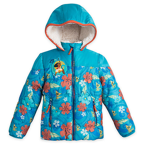 Moana Jacket for Girls - Personalizable