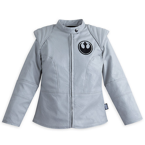 Rey Faux Leather Jacket for Girls