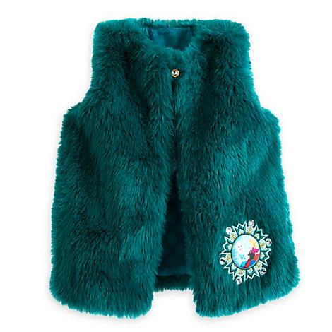 Frozen Faux Fur Vest for Girls