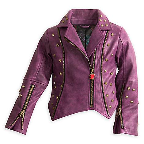 Descendants Faux Leather Moto Jacket for Girls