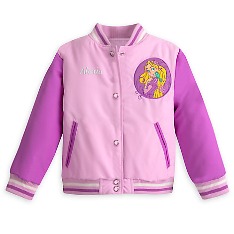 Rapunzel Varsity Jacket for Girls - Tangled - Personalizable