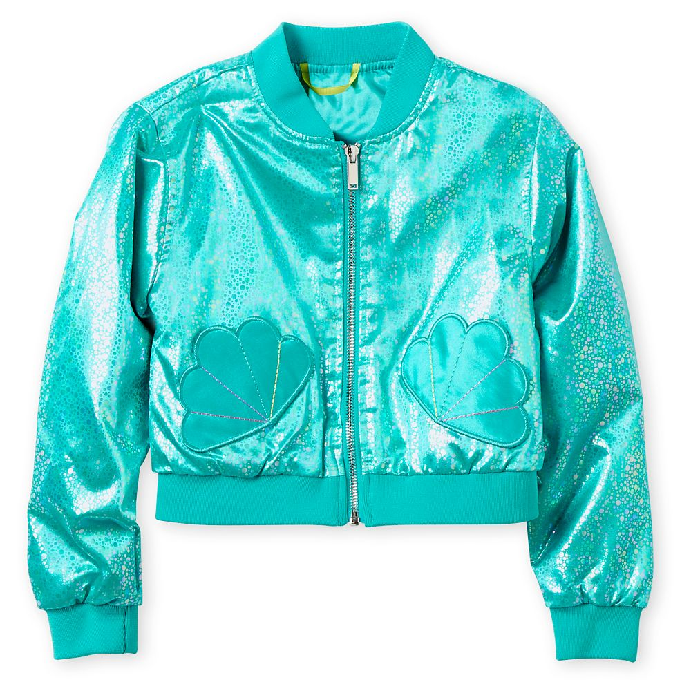 Ariel Varsity Jacket for Girls  Personalized Official shopDisney