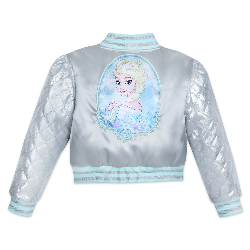 Elsa Varsity Jacket for Girls