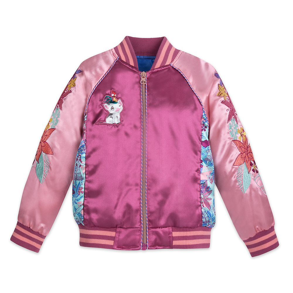 Moana Varsity Jacket for Girls – Personalized