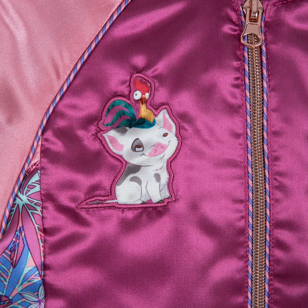 Moana Varsity Jacket for Girls
