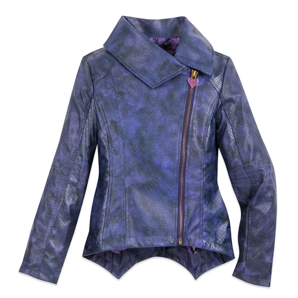 Mal Faux Leather Moto Jacket for Girls – Descendants 3