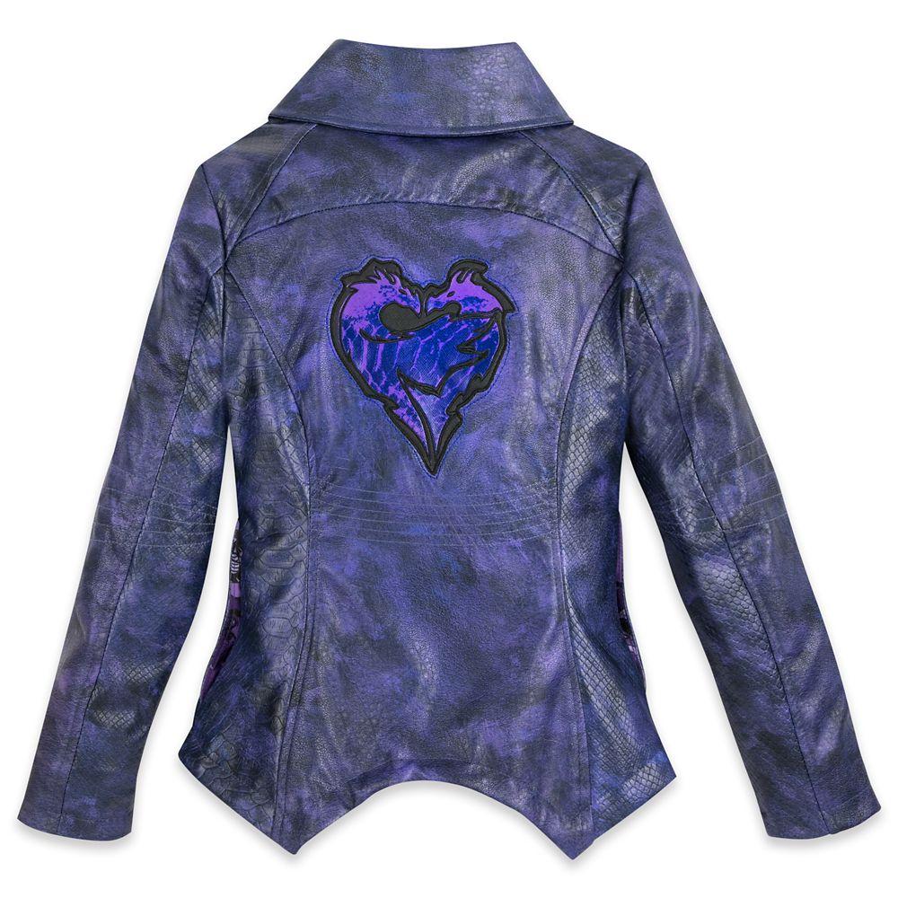 Mal Faux Leather Moto Jacket for Girls – Descendants 3