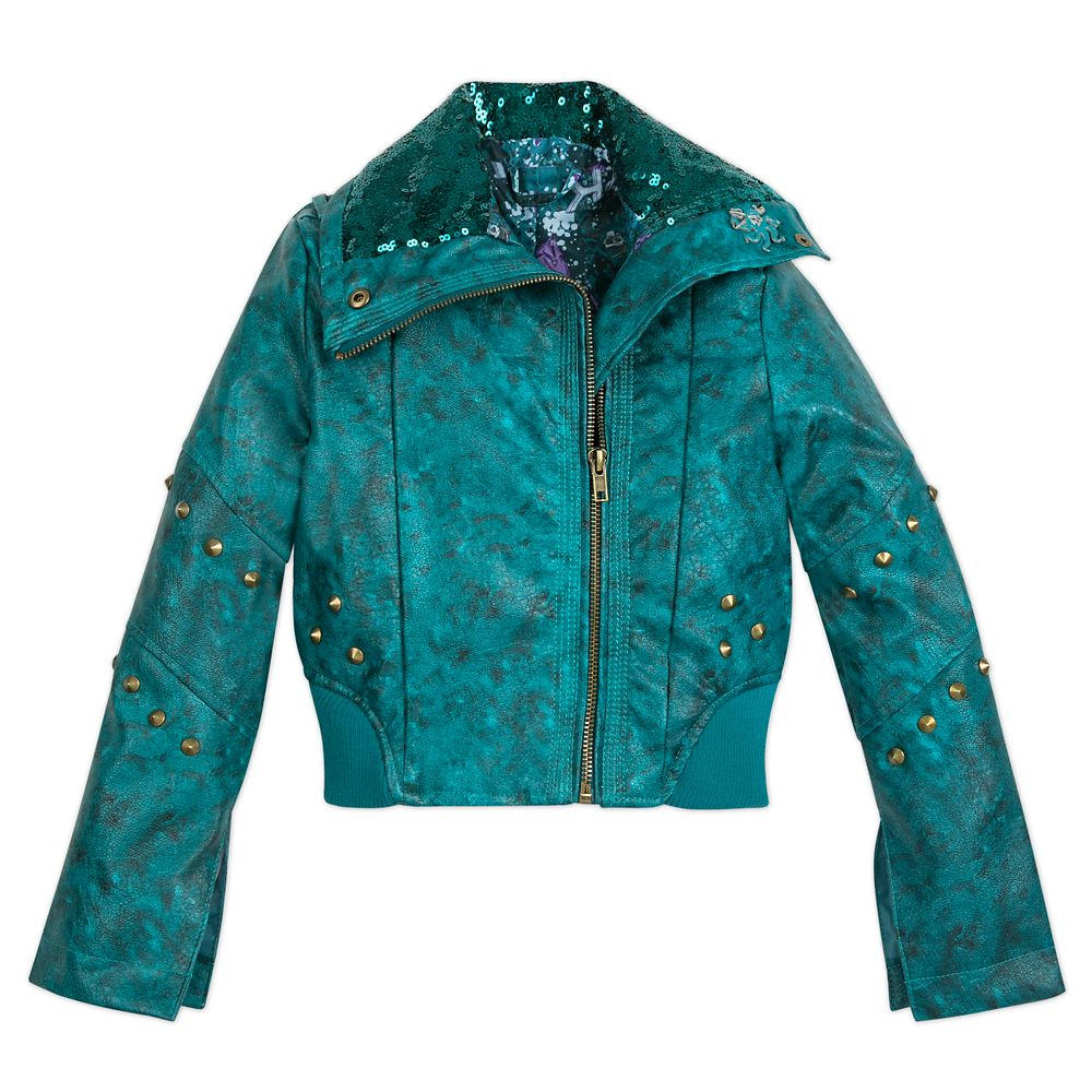 Uma Faux Leather Moto Jacket for Girls – Descendants 3
