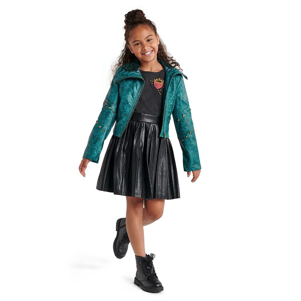 Uma Faux Leather Moto Jacket for Girls – Descendants 3
