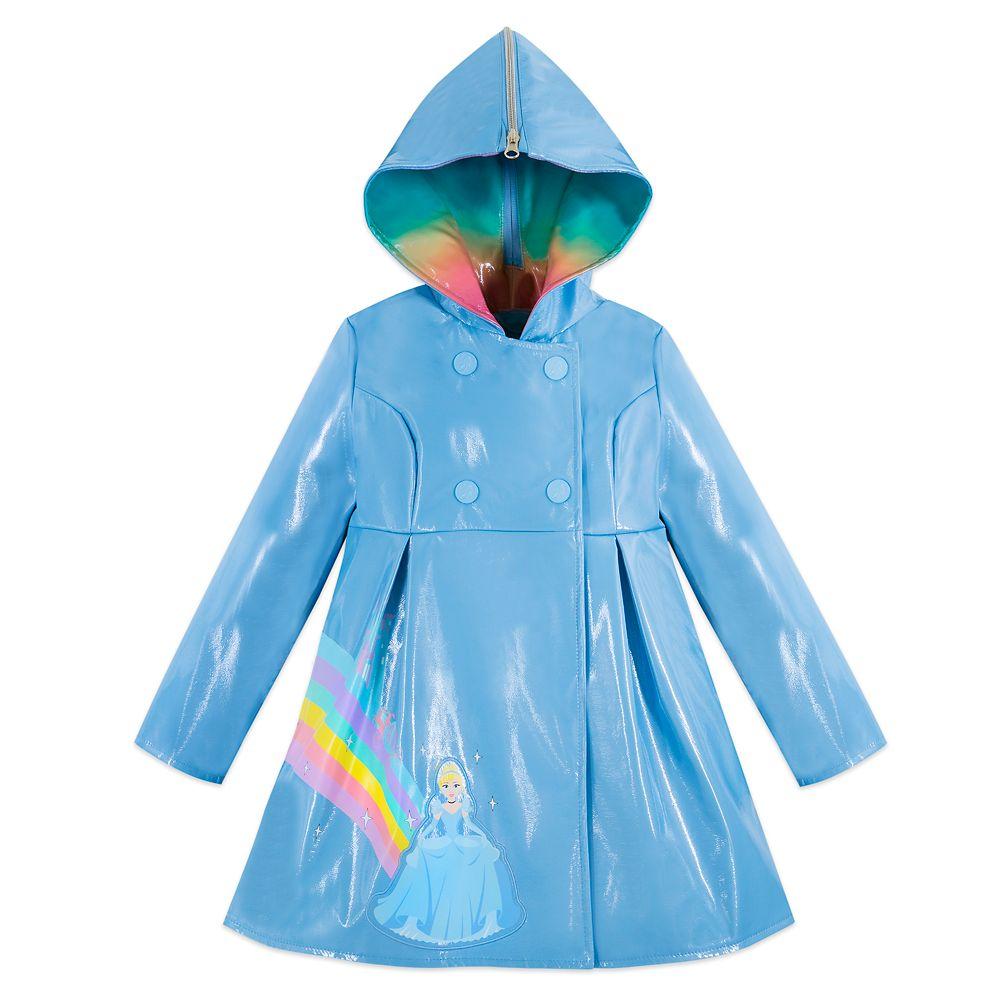 Cinderella Rain Jacket for Kids