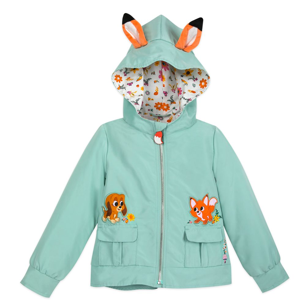 The Fox and the Hound Jacket for Girls - Disney Furrytale friends Collection