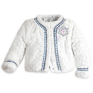 Frozen Deluxe Faux Fur Jacket for Girls