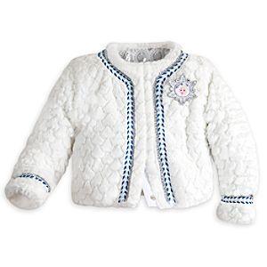 Frozen Deluxe Faux Fur Jacket for Girls