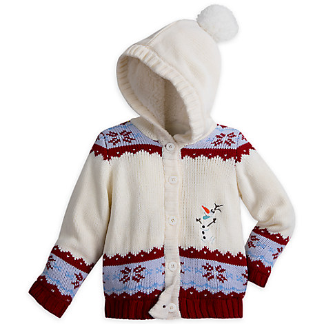 Olaf Hooded Sweater for Girls - Olaf's Frozen Adventure