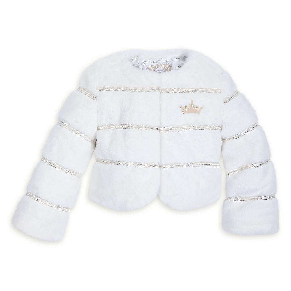 Disney Princess Faux Fur Jacket for Kids