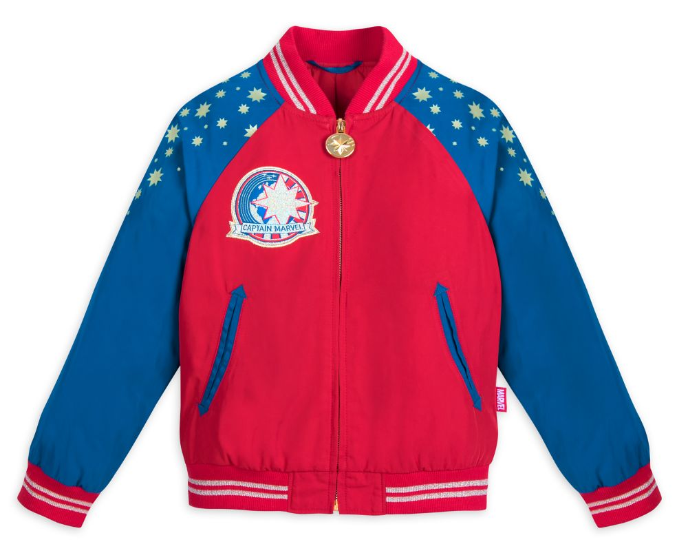 Marvel's Captain Marvel Jacket for Kids