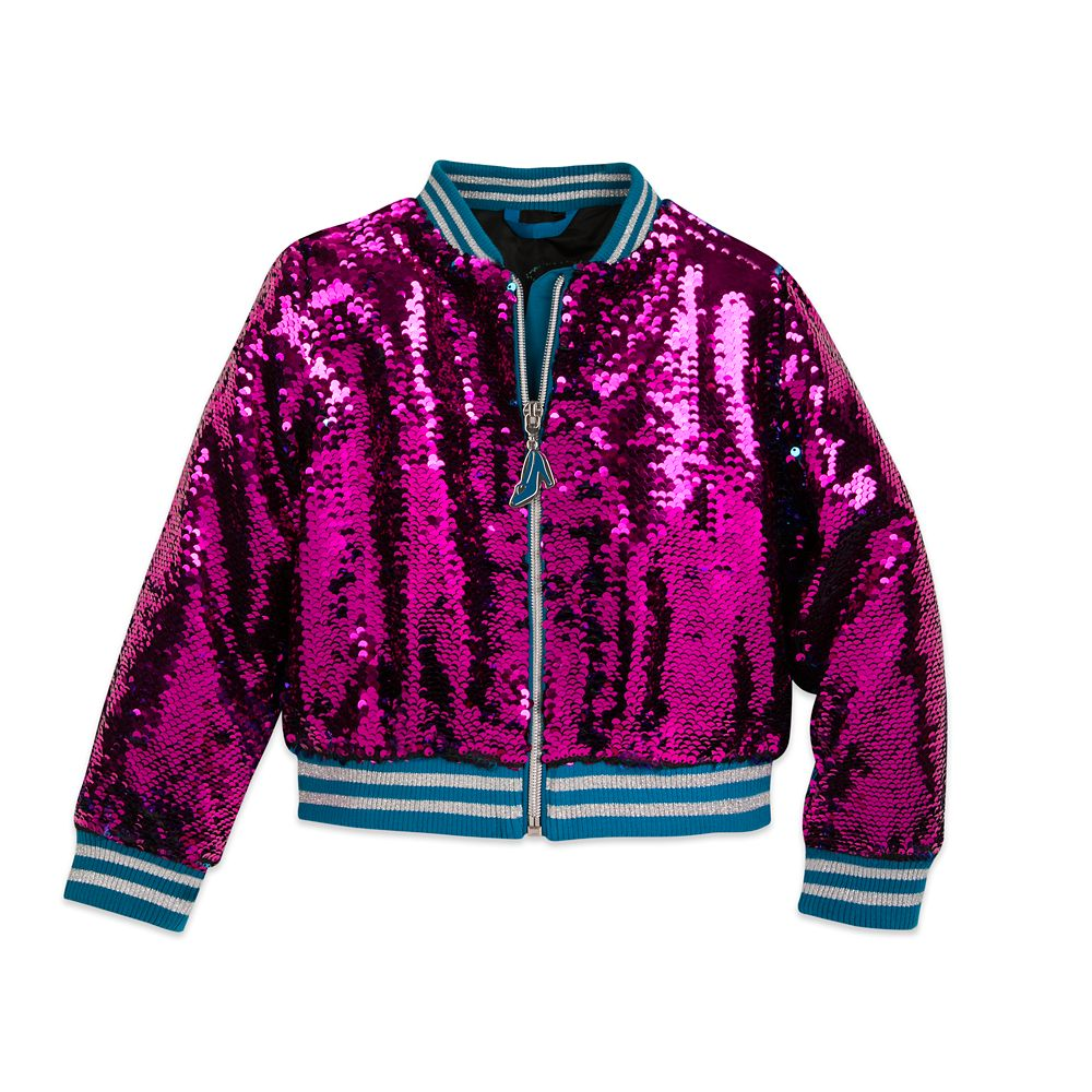 Cinderella Reversible Sequin Bomber Jacket for Girls