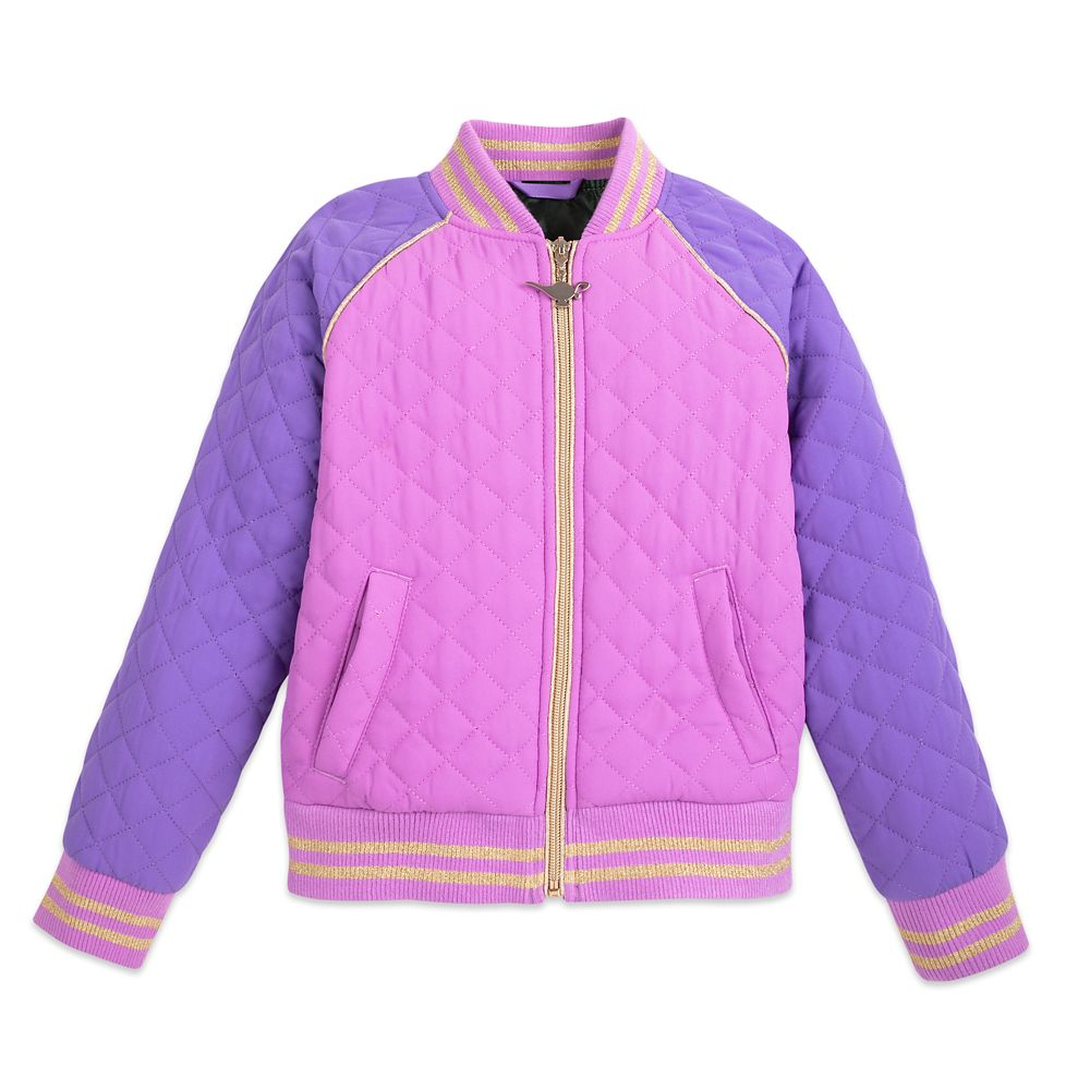 Jasmine Quilted Varsity Jacket for Girls