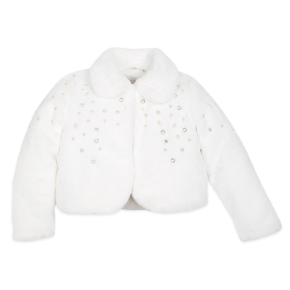 Disney Princess Faux Fur Jacket for Girls
