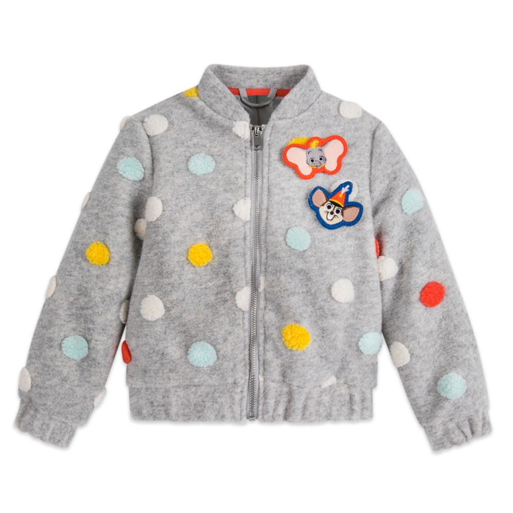 Dumbo Polka Dot Jacket for Girls