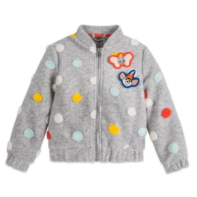 Dumbo Polka Dot Jacket for Girls