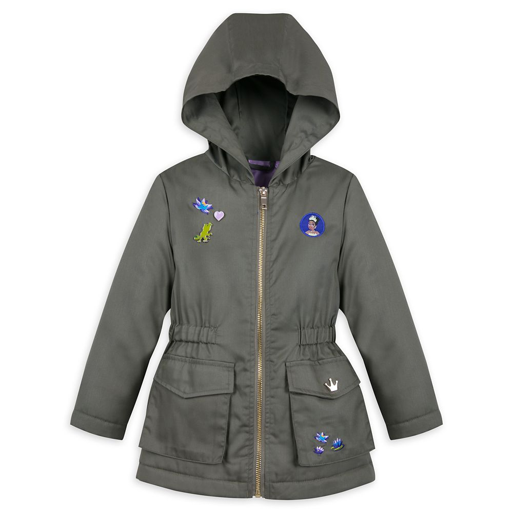 Tiana Woven Hooded Jacket for Girls